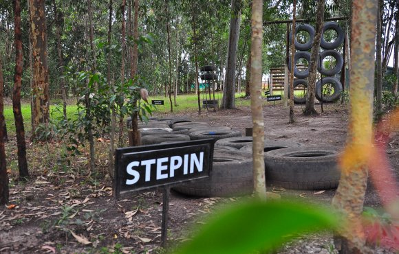 Stepin obstacle course